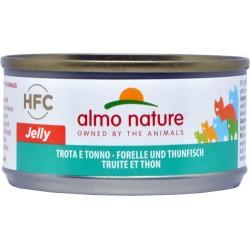 Almo jelly gatto trota e tonno gr.70