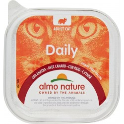 Almo nature Daily Adult Cat con Anatra 100 gr.