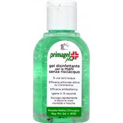 Primagel plus gel disinfettante per mani senza risciacquo ml.50