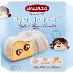 Balocco Torte in Festa Voglia di Panna e Cioccolato 400 gr.