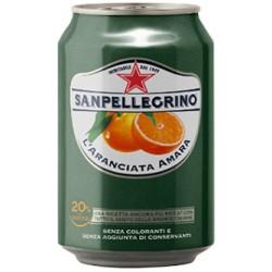 San Pellegrino aranciata amara cl.33