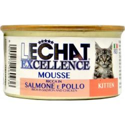 Lechat mousse kit.salmone/pollo gr.85