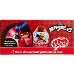 Walcor 3 Ovetti di cioccolato finissimo al latte Miraculous 3 x 20 gr.