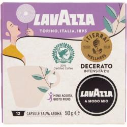 Lavazza A Modo Mio, Tierra! Wellness Caffè Decerato - 12 Capsule Salva Aroma 90 gr.
