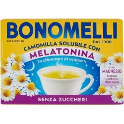 Bonomelli Estratto di Camomilla Solubile Senza Zuccheri Melatonina e Magnesio 16 x 4,5 gr.