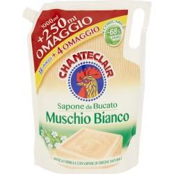 Chanteclair Sapone da Bucato Muschio Bianco Ecoricarica 1250 ml.