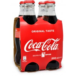 Coca-Cola Original Taste ml. 200 x 4 (Vetro)