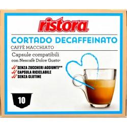 Ristora cortado decaffeinato dolce gusto capsule pz.10