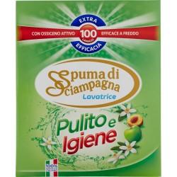 Spuma di Sciampagna Pulito e Igiene Lavatrice 6 Kg.