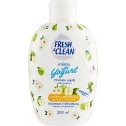 Fresh & Clean intimo allo Yogurt mela e camomilla freschezza e delicatezza 200 ml.