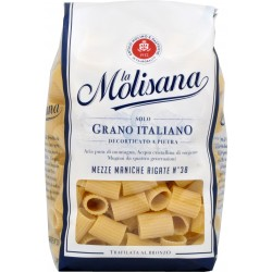 La molisana pasta mezze maniche rigate n.38 gr.500