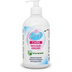 Soft Care sapone liquido igienizzante tea/aloe ml.500