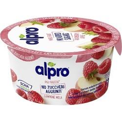 Alpro più frutta* No Zuccheri Aggiunti Lampone Mela 135 gr.