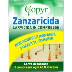 Copyr zanzaricida compresse da gr.2 pz.12