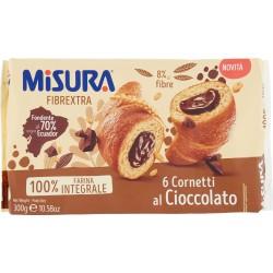 Misura Fibrextra Cornetti al Cioccolato 6 x 50 gr.