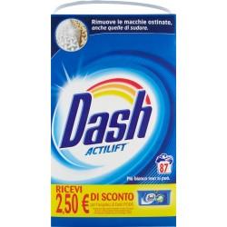 Dash Detersivo in Polvere Lavatrice 87 Misurini fustone kg.5,65