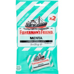 Fisherman's Friend Menta Senza Zuccheri 2 x 25 gr.