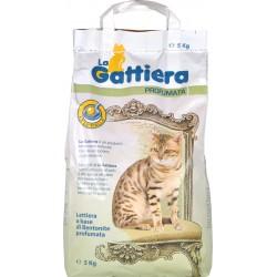 La gattiera bentonite profumata kg.5