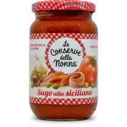 Le conserve della Nonna sugo alla siciliana gr.350