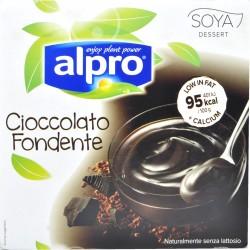 Alpro Soya Dessert Dark Chocolate 4 x 125 gr.