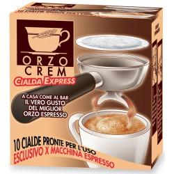 Orzocrem cialda espresso 10 filtri