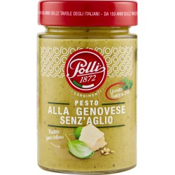 Polli I Condimenti Pesto alla Genovese Senz'Aglio 190 gr.