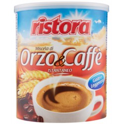 Ristora orzo-caffe solubile lattina gr.125