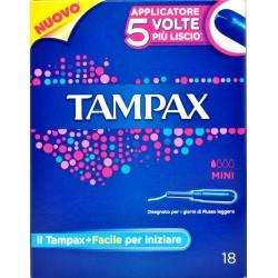 Tampax blue box assorbenti mini pz.18