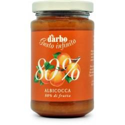 D'Arbo crema alle albicocche 80% gr.250