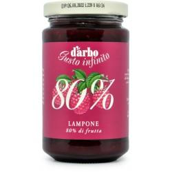 D'Arbo crema ai lamponi 80% gr.250
