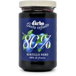 D'Arbo crema di mirtilli neri 80% gr.250
