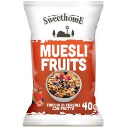 Sweethome muesli fruits gr.40