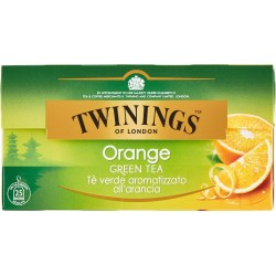 Twinings Orange Green Tea 25 x 2 gr.
