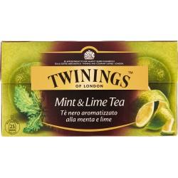Twinings Mint & Lime Tea 25 x 2 gr.