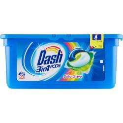 Dash PODS 3in1 Detersivo Lavatrice in Monodosi Salva Colore 23 Lavaggi