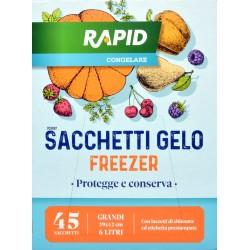 Rapid sacchetti freezer cm.29x42 x45pz