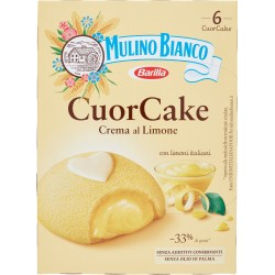 Barilla Mulino Bianco cuor cake crema limone x6 gr.210