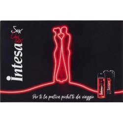 Intesa Sex Unisex Ambra d'Arabia Conf Reg. Parfum Deodorant 125mL/Gel Doccia Shampoo 250mL/Pochette