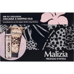 Malizia Animalier Conf Reg. Seduction Parfum Deodorant 100mL/Crema Corpo 150mL/Collana doppio filo
