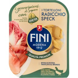 Fini i granripieni di sapore i Tortelloni Radicchio Speck 250 gr.