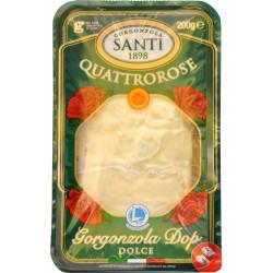 Gorgonzola Dop dolce Quattrorose gr.200