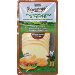 Formaggio a fette con parmigiano reggiano affumicato gr.120