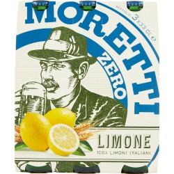 Birra Moretti Radler Zero Limone 3 x 33 cl.