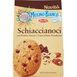 Mulino Bianco Barilla Schiaccianoci con frutta secca e cioccolato fondente 300 gr.