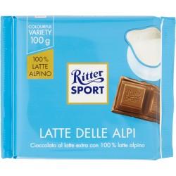 Ritter Sport Latte delle Alpi 100 gr.