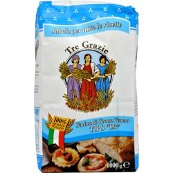 Le tre grazie farina grano di tenero 00 kg.1