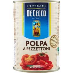 De Cecco I Pomodori Polpa a Pezzettoni 400 gr.