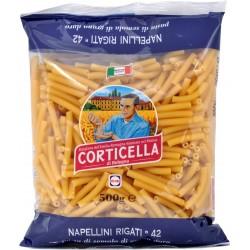 Corticella pasta napellini rigati n.42 gr.500