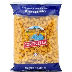Corticella pasta chifferi rigati n.61 gr.500