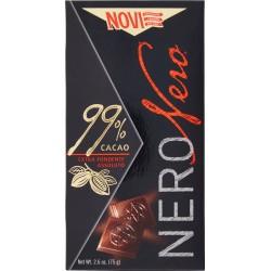 Novi NeroNero 99% Cacao Extra Fondente Assoluto 75 gr.